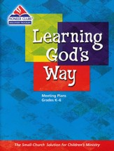 Learning God's Way Leader Plan Book