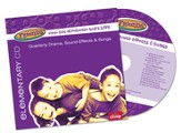 FaithWeaver Friends Elementary Drama, Sound Effects & Songs CD, Winter 2015