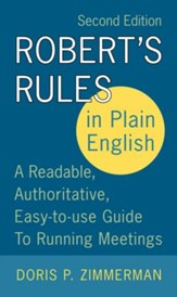 Robert's Rules in Plain English 2e - eBook