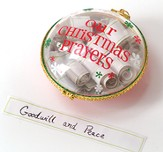 Christmas Prayers Ornament