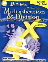 Math Tutor: Mastering Multiplication & Division Gr 4-12