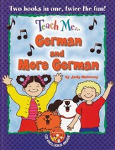 Teach Me German & More German Paperback & Audio CD