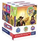 Living Inside Out Kit: Treasure Island (Giving), Under the Tree (Jesus' Birth), and Spelunkers (Bible Skills) Plus Poster Pack, Winter 2015