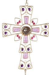 Cross Wind Chime, Purple