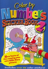Color by Numbers Sticker Book 2