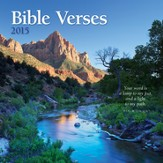 Bible Versus, 2015 Wall Calendar