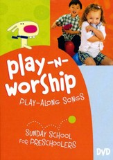 Play-n-Worship: Play-Along Songs for Preschoolers--DVD