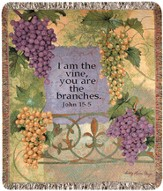 I Am the Vine, Woven Throw