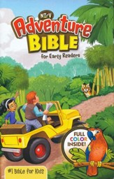 NirV Adventure Bible for Early Readers, Hardcover, Jacketed - Slightly Imperfect