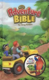 NirV Adventure Bible for Early Readers, Lenticular (3D Motion), Hardcover - Slightly Imperfect