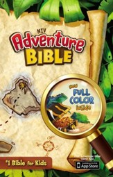 NIV Adventure Bible, Hardcover, Jacketed - Slightly Imperfect