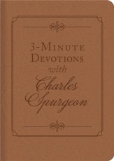 3-Minute Devotions with Charles Spurgeon: Inspiring Devotions and Prayers - eBook