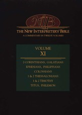New Interpreter's Bible Volume 11: 2 Corinthians - Philemon - Slightly Imperfect