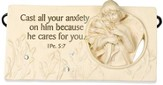 Cast all Your Anxiety on Him Plaque