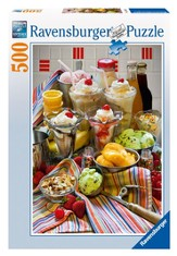 Just Desserts, 500 Piece Jigsaw Puzzle