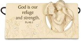 God is Our Refuge Plaque
