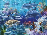 Sea Life Super Floor Puzzle