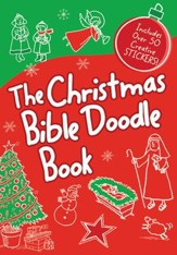 The Christmas Bible Doodle Book   - Slightly Imperfect
