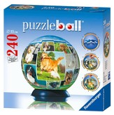 A Dog's World Puzzleball, 240 Pieces