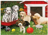 Puppy Party, 60 Piece Puzzle