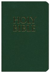 KJV Teeny Tiny Bible (Gospels Only), Dark Green
