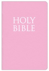 KJV Teeny Tiny Bible (Gospels Only), Pink  - Slightly Imperfect