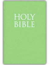 KJV Teeny Tiny Bible (Gospels Only), Spring Green  - Slightly Imperfect