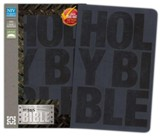 NIV Boys Bible, Italian Duo-Tone, Slate Blue