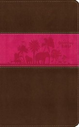 NIV Adventure Bible, Chocolate/Hot Pink