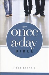 NIV Once-A-Day Bible for Teens