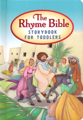 The Rhyme Bible Storybook for Toddlers, Revised