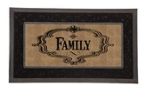 Family, Burlap Switch Mat