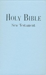 NIV Tiny Testament Bible, Blue - Imperfectly Imprinted Bibles