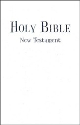 NIV Tiny Testament Bible, White - Imperfectly Imprinted Bibles