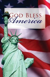 God Bless America, pack of 25 Tracts