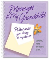 Messages to My Grandchild Notebook