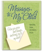 Messages to My Child Notebook