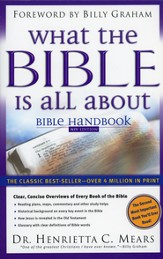 What the Bible Is All About: NIV Bible Handbook (slightly imperfect)