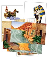 Egypt VBS 2016: Giant Decorating Posters, set of 6