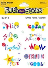 Stickers: Smile Face Awards