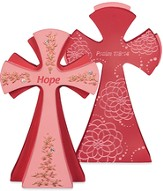 Hope, The Lord Is My Strength Tabletop Cross