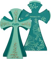 Faith Is Being Sure Tabletop Cross