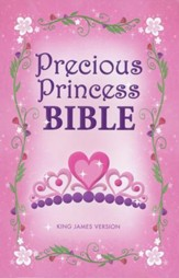 KJV Precious Princess Bible, Hardcover - Slightly Imperfect