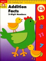 The Learning Line: Addition Facts to 18, 2-Digit  Numbers
