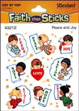 Stickers: Peace And Joy