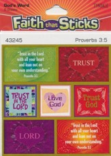 Faith That Sticks: God's Word, Proverbs 3:5