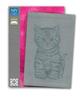 Curious Kittens Bible, Gray