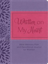 Written on My Heart: Bible Memory Plan and Devotional Journal for Women - eBook