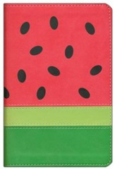 NIV Fruit of the Spirit Bible Collection, Italian Duo-Tone, Watermelon - Slightly Imperfect