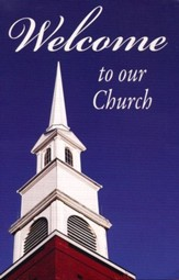 Welcome to Our Church, Pack of 25 Tracts